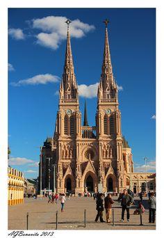 Lujan Basilica - Lujan, Buenos Aires- Argentina