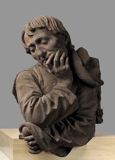 Nikolaus Gerhaert (c. 1420 – also known as Nikolaus Gerhaert van Leyden, was a sculptor of Dutch origin. Pottery Sculpture, Sculpture Clay, Art Sculptures, Renaissance, Portrait, Art Premier, Terracota, Museum, Interesting Faces