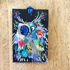 Merry Morepork/Owl Decoration Blue (1) Nativity, Fun Facts, Gift Wrapping, Owl, Merry, Decoration, Christmas, Gifts, Blue