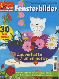 Fensterbilder - Zauberhafte Blumenmotive - Comatus Coprinus - Àlbums web de Picasa Paper Crafts Magazine, Web Gallery, Magazines For Kids, Album, Paper Cutting, Decoration, Diy And Crafts, Projects To Try, Origami