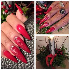 Jule negle lavet af den sødeste Helle i verden.