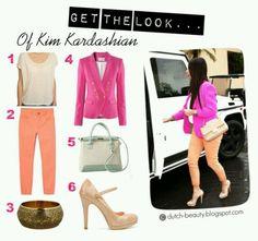 Kim Kardashian's style..