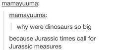Jurassic times: