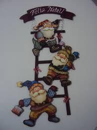 decoração de natal em mdf - Pesquisa Google