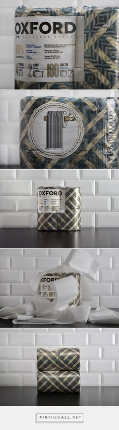 The Best Packaging | Oxford – новый бренд туалетной бумаги от The Bakery - created via http://pinthemall.net