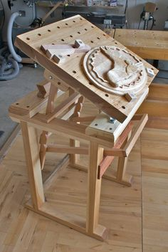 Carvers Bench. Now the only challenge is talking someone into making it for me.