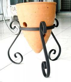 suporte para vaso de flor em ferro suporte floreira jardim