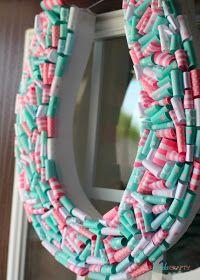 Birthday Party Details | Horseshoe Wreath