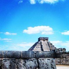 Ruins of Chichen Itza. Photo courtesy of foreverinwanderlust on Instagram.