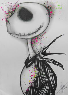 nightmare before christmas characters drawings | The nightmare before christmas by ~ brunoarandap