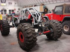 Buggy mud and rock