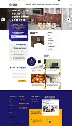 Ditália lança novo site e nova linha de produtos. #web #socialmedia