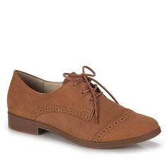 Sapato Oxford Feminino Bottero Totalmente Demais - Caramelo