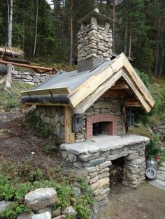 Forno Vero kit 107 - 160 - Seljord Varmeservice AS Pizza Oven Outdoor, Outdoor Cooking, Outdoor Kitchens, Backyard Fireplace, Outdoor Fireplaces, Four A Pizza, Wood Fired Oven, Stone Houses, Cabana