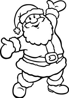 Children's Christmas Coloring Pages Free Free Santa Coloring Pages And Printables For Kids. Children's Christmas Coloring Pages Free Coloring Pages Co. Santa Coloring Pictures, Santa Coloring Pages, Printable Christmas Coloring Pages, Christmas Coloring Sheets, Online Coloring Pages, Christmas Printables, Coloring Pages For Kids, Coloring Books, Santa Pictures