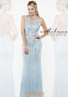 Milano Formals Long Fitted Dress E1908