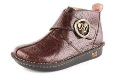 Alegria Shoes Caiti Choco Embossed Rose - now on closeout! #alegriashoeshop