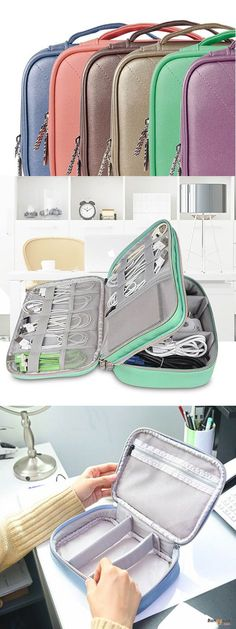 US$16.99 + Free shipping. BUBM DPS-P Accessory Storage Bag. Available for diverse asscessory, it can hold earphone cable, USB flash disk, power band, tablet under 8 inch etc.