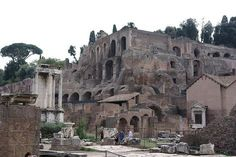 Caligula's Palace, Rome. Caligula's Palace was massive, running down the side of Palatine Hill and into the Forum.