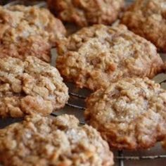 I found this recipe on another web site and since I am a fan of oatmeal cookies, I decided to try these.  They are very chewy, have lots of great coconut flavor, and are not overwhelmingly sweet or heavy.