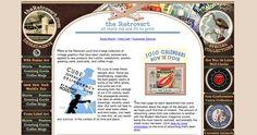 The Retrovert Website - #vintage #website #design