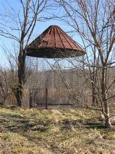 wire corn cribs.