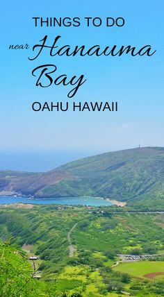 Things to do in Oahu Hawaii near one of the best beaches for snorkeling in Oahu, Hanauma Bay, with travel tips. For US beaches, activities like swimming and snorkeling with turtles and fish! Best Oahu beaches give you things to do with nearby hiking trails, food, and shopping. USA travel destinations for bucket list for world adventures when on a budget! So outside of Waikiki and Honolulu, put it on the itinerary! Add snorkeling gear to Hawaii packing list and what to wear in Hawaii.