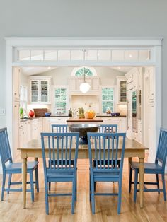 Like these colors for table and chairs