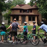 Frank Lloyd Wright house tours in Chicago