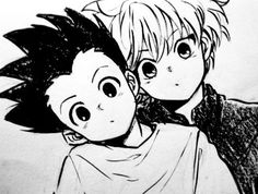 hunter x hunter gon & killua