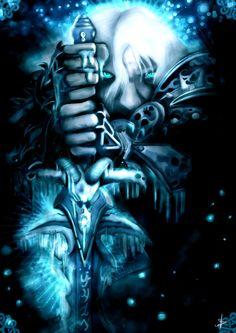 Arthas Lich King, World Of Warcraft, Joker, Batman, Fan Art, Superhero, Wallpaper, Drawings, Deviantart