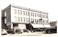 Big Rapids Michigan Western Hotel Real Photo Antique Postcard K9376