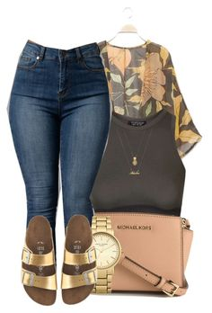 """"""" I got some party favors for you """" by mindlesspolyvore ❤ liked on Polyvore featuring Topshop, MICHAEL Michael Kors, Forever 21 and J.Crew"""