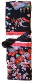 How to make Kimono Needle Roll - DIY Craft Project with instructions from Craftbits.com
