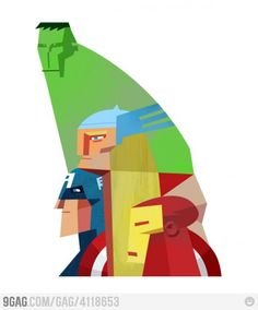 Picasso & The Avengers  피카소 스타일 어벤저스 ㅋ