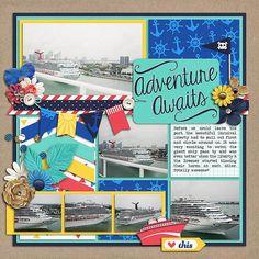 Sweet Shoppe Designs::Digital Scrap Kits::Cruisin' by Erica Zane