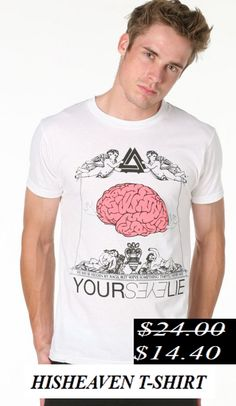 50% Discount. Hisheaven t-shirt. Now it's only.... $14.40