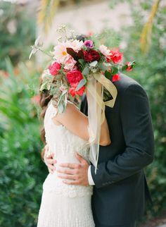Cute #bouquet shot | Photography: justindemutiisphotography.com | Florals + Styling: www.theantibride.com