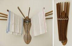 farmhouse musings: The Vintage Style Wooden Clothes Drying Rack is Back