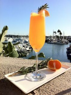 Tangerine Rosemary Mimosa #pinwinblend