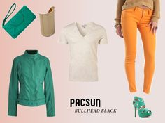 Casual Chic Lookbook Page, rendered after concept art. #pacsun #bullheadblack