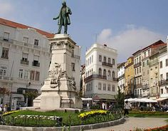 Statue: Henry the Navigator who taught Christopher Columbus, Coimbra