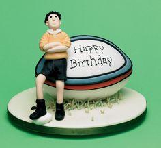 Rugby Birthday Cake by Helen Penman