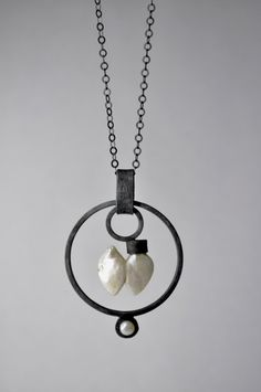 love this, thinking of doing something inspired by this. necklace by ALBERTO DAVILA