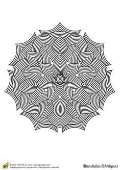 Färbung – coloring pages - Malvorlagen Mandala Geometric Coloring Pages, Pattern Coloring Pages, Mandala Coloring Pages, Colouring Pages, Adult Coloring Pages, Coloring Books, Coloring Sheets, Big Rangoli Designs, Beautiful Rangoli Designs