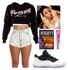 """""""plain and simply pt 5"""" by daijahhill25 ❤ liked on Polyvore"""