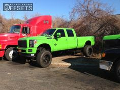 mt two favorite things put together♥ lime green n ford!