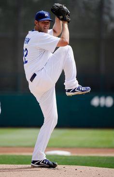 clayton kershaw   Clayton Kershaw Pitcher Clayton Kershaw #22 of the Los Angeles Dodgers ...