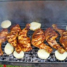 Grillpác húsokhoz Proof Of The Pudding, Grill Party, Bbq Rub, Tandoori Chicken, Bacon, Food And Drink, Ethnic Recipes, Healthy Diet Foods, Fimo