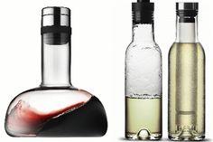Wine breather and cooler carafe set- Homebits UK